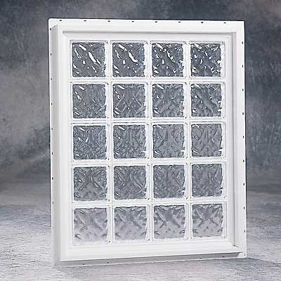 Glass window acrylic glass block windows Plastic glass block windows