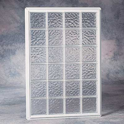 20 x 14 acrylic block wall 6pwa2014 Plastic glass block windows