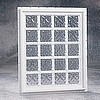 "50"" x 50"" Design Series Vinyl Fixed Window (8"" Blocks) QUICK SHIP"