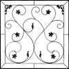"47-1/2"" X 47-1/2"" Wrought Iron"